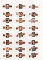 Sigarenbanden Alto Serie Posters 24 St - Bagues De Cigares