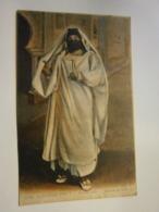 Maroc Scènes Et Types,femme Voilée,costume De Ville,écrite 1919,bel état Tâche Au Verso,colorisée - Marocco