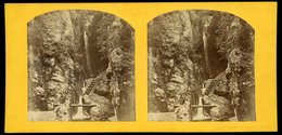 Stereoview - Dungeon Ghyll, Cumbria, Lake District - Visionneuses Stéréoscopiques