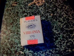 Suisse Publicité Paquet De Cigarettes Vide  Players Virginia N°6 Fabriqué à Genève  Par British Américan Tobacco - Autres