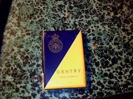 """Publicité Paquet De Cigarette Vide """"  Gentry"""" Par Muatti Cigarettes - Autres"""