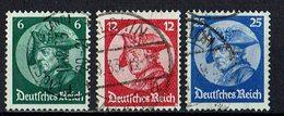 DR 1933 // Mi. 479/481 O - Deutschland