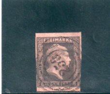 PRUSSE 1850-6 O AMINCI-THINNED - Prussia