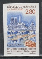 France N°2953 ** Non Dentelé - Francia