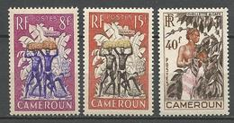 CAMEROUN N° 297 à 299 NEUF** LUXE SANS CHARNIERE  / MNH - Cameroun (1915-1959)