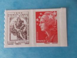 TIMBRE  AUTOADHESIF  No: Paire 507 , TYPE CABASSON , Paire Horizontale , XX , En Bon état - Adhesive Stamps