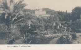 2c.424.  FRASCATI - Roma - Giardino - Ediz. N.P.G. - Autres Villes
