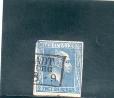PRUSSE 1858 O AMINCI-THINNED - Preussen