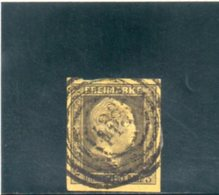 PRUSSE 1858 O AMINCI-THINNED - Prussia