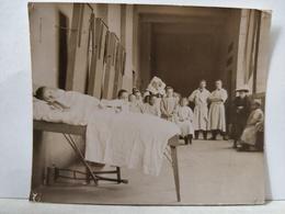 Lyon. 1899. Hôtel Dieu. Hôpital. Service Nové Josserand. 8.5x6.5 Cm - Anciennes (Av. 1900)