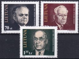 LITAUEN 1999 Mi-Nr. 689/91 ** MNH - Lituanie