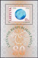 LITAUEN 1998 Mi-Nr. Block 14 ** MNH - Lithuania