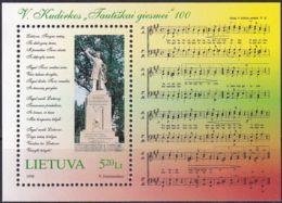 LITAUEN 1998 Mi-Nr. Block 13 ** MNH - Lithuania