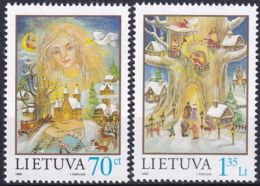 LITAUEN 1998 Mi-Nr. 680/81 ** MNH - Lithuania