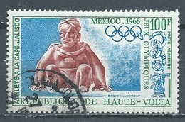 Haute-Volta Poste Aérienne YT N°57 Jeux Olympiques De Mexico 1968 Oblitéré ° - Upper Volta (1958-1984)