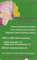 Turkey, TR-TT-N-401, Sabit Telefonlarda Pesin Kontur, 2 Scans. - Turkije