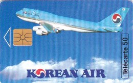 TELECARTE Publicitaire AVIATION AVIONS KOREAN AIR Petit Tirage 3500 Ex - Frankreich