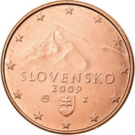 Slovaquie, Euro Cent, 2009, SPL+, Copper Plated Steel, KM:95 - Slovaquie