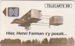 TELECARTE Publicitaire AVIATION AVIONS HENRI FARMAN Pole Technologique REIMS  Petit Tirage 11000 Ex - Frankreich
