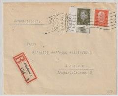 DR MNr. 417 Ecke Unten Links Auf Brief - Germany