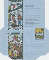 GB - Post Office Training Airletter 10½p Christmas 'Specimen Overprint' - 1952-.... (Elizabeth II)