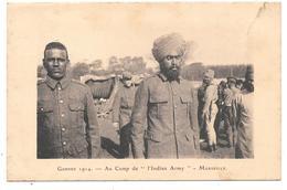 13 - MARSEILLE - Guerre 1914 - Au Camp De L' Indian Army  - 1924 - Autres