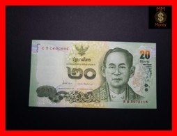 THAILAND 20 Baht 2013 P. 118   UNC - Thailand