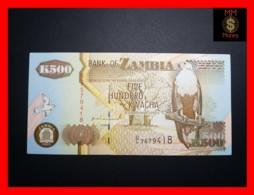 ZAMBIA 500 Kwacha  1992 P. 39 A   UNC - Zambia