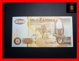 ZAMBIA 500 Kwacha  1992 P. 39 B   XF+ - Zambia