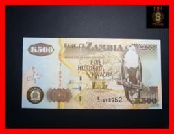 ZAMBIA 500 Kwacha  2003 P. 39 D  UNC - Zambia