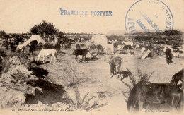 Guerre Du Maroc - BOU-DENIB Campement D'un Goum - Photo Geiser - CPA En Très Bon état - 2 Scans - Andere Kriege