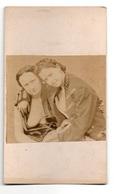 1860/70s CDV PHOTO Ancienne NUDE Sexy Girls Femme Erotique Nus Prostituée Carte-de-Visite Lesbienne Lesbian 18 - Beauté Féminine (...-1920)