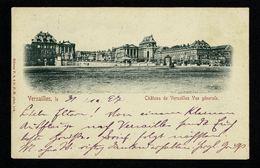 1897 CPA Château De Versailles Editeur P.S. à D.P.M. Voyagé Vers Allemagne Type Sage 10c   2 Scan - Châteaux