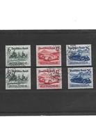 ALLEMAGNE-III REICH-1939 Salon Internationale De L'automobile YT N 627 à  629  Et  629A  à  629C Oblitérés - Deutschland