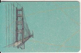 GERMANY(chip) - Here We Are/Golden Gate-Western Region-USA(A 52 H), Tirage 49000, 12/91, Used - Germania