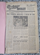 ILUSTROVANI SPORTSKI LIST 1939 UVEZANO 48 BROJEVA KINGDOM OF YUGOSLAVIA, BANDED 48 NUMBER  Rrare - Livres