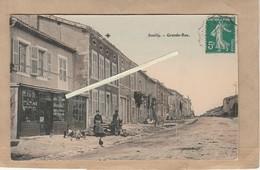 Dept 55 : ( Meuse ) Souilly, Grande Rue. - Autres Communes