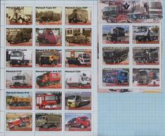 Fantazy Labels / Private Issue. Trucks. Transport. Cars RENAULT  2019. - Fantasie Vignetten