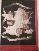 UNIQUE ! Menu Présidentiel Offert à Albert Lebrun Au Palais Des Papes à Avignon Le 31 Juillet 1938 - Menükarten