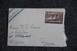 Lettre D'ARGENTINE Vers FRANCE Le 13 Janvier 1958 - Briefe U. Dokumente