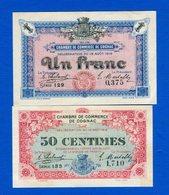 Cognac  2  Billets  Neuf - Cámara De Comercio