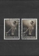 III REICH-1939 Commémoration Du Discours Du 1er Mai  YT N 635 Et 636 Oblitérés - Deutschland
