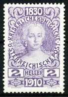 ÖSTERREICH 1910 Nr 162 Ungebraucht X56883E - Ungebraucht