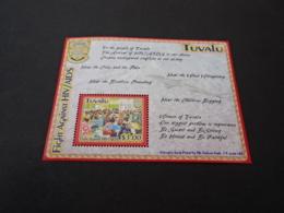 K31952 -  Bloc MNH Tuvalu - 2004 - Fight Against HIV/AIDS - Tuvalu