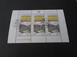 M10351 -set In Bloc  Special Postmark - CEPT  - Portugal Europa 1977 - Blocs-feuillets