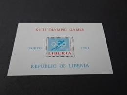 M10416 -Bloc MNH Liberia 1964 - Olympics Tokyo - Summer 1964: Tokyo