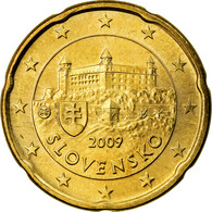 Slovaquie, 20 Euro Cent, 2009, SPL+, Laiton, KM:99 - Slovaquie