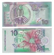 SURINAME 10 GULDEN P147 2000 BANKFRISCH - Surinam