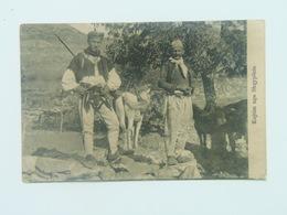 Albania Shqipenia 4406 Costume Feldpost Gebirsbodderei 1916 Foto Marubi - Albania
