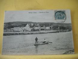 60 7776 CPA 1908 - 60 RIEUX. BORDS DE L'OISE - ANIMATION. BARQUE - France
